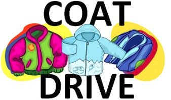 Jacket clipart coat drive. Cope middle school on