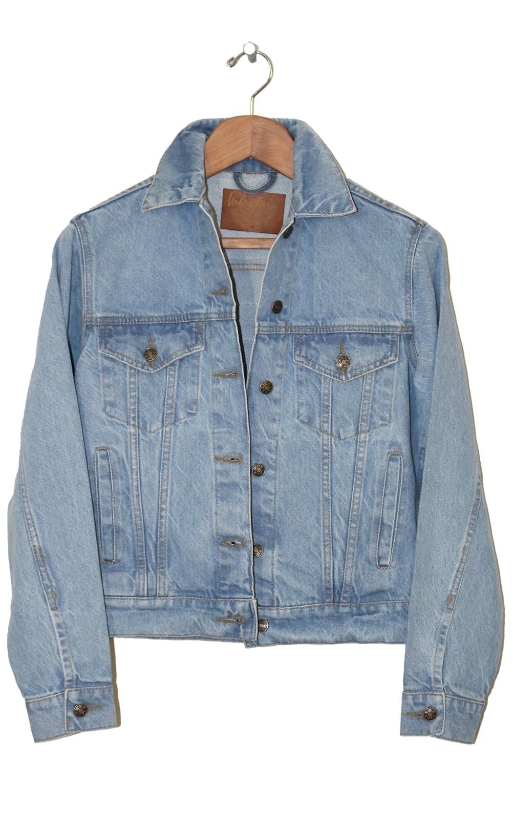 Taking care of business. Jacket clipart jeans jacket