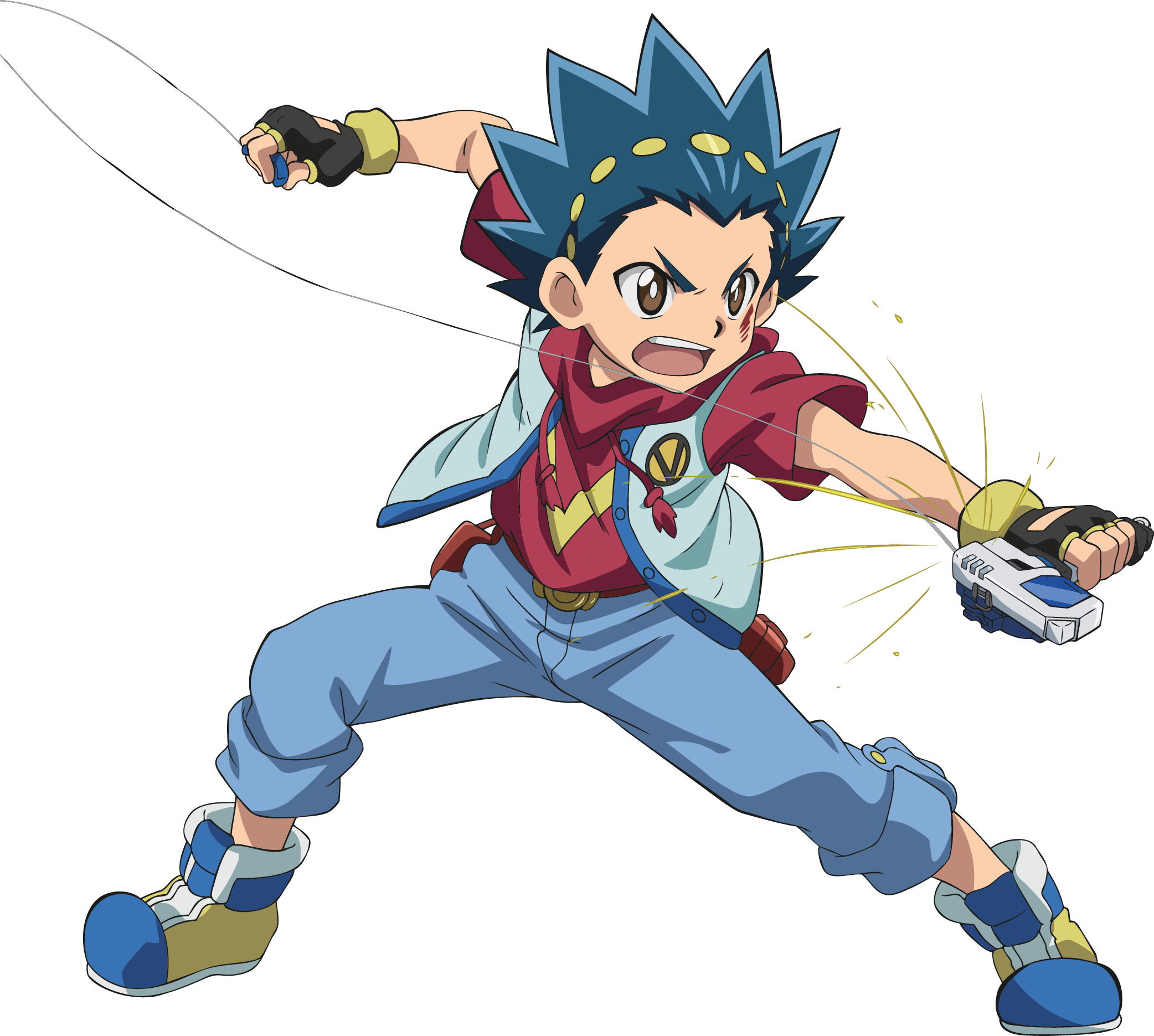 Characters the official beyblade. Streamers clipart burst