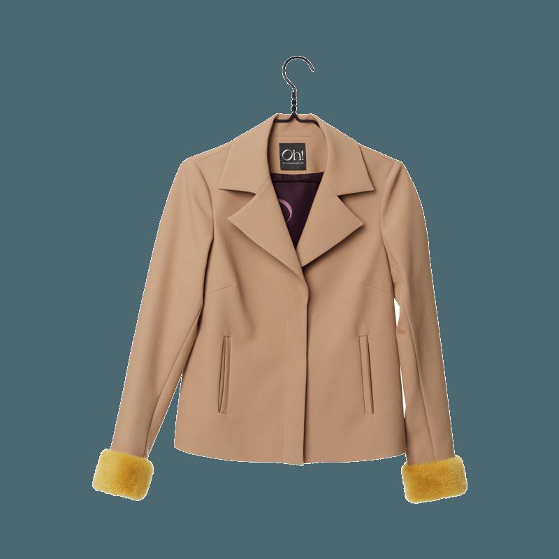 Oh by kopenhagen fur. Jacket clipart mink coat