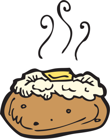 Free baked cliparts download. Potato clipart jacket potato
