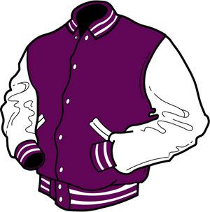. Jacket clipart purple jacket