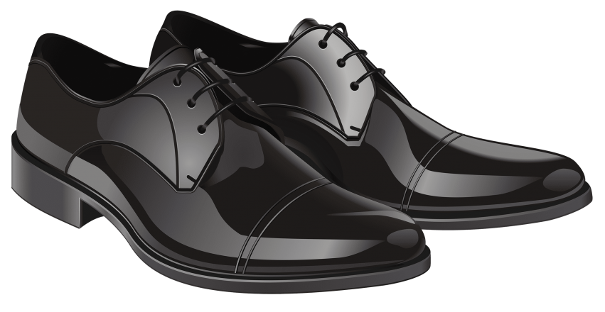 Jacket clipart shoe. Black elegant men shoes