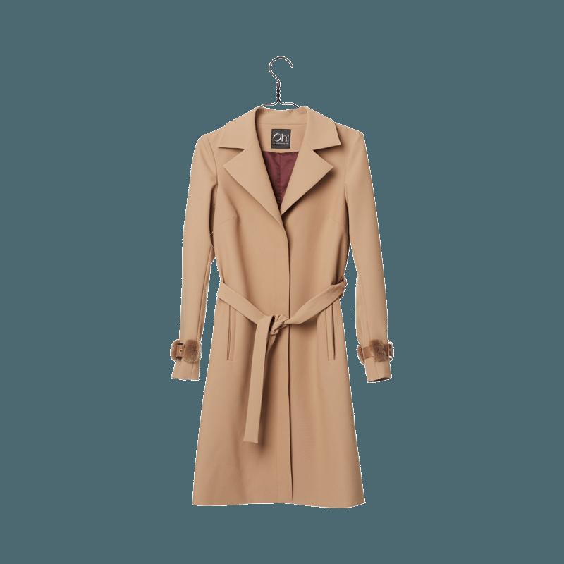 Oh by kopenhagen fur. Jacket clipart trench coat