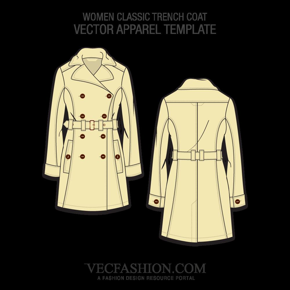 Jacket clipart trench coat. Women s fashion flats