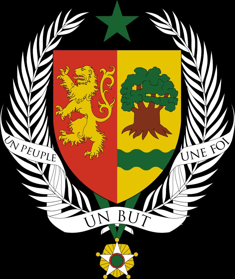 Coat of arms senegal. Jacket clipart une