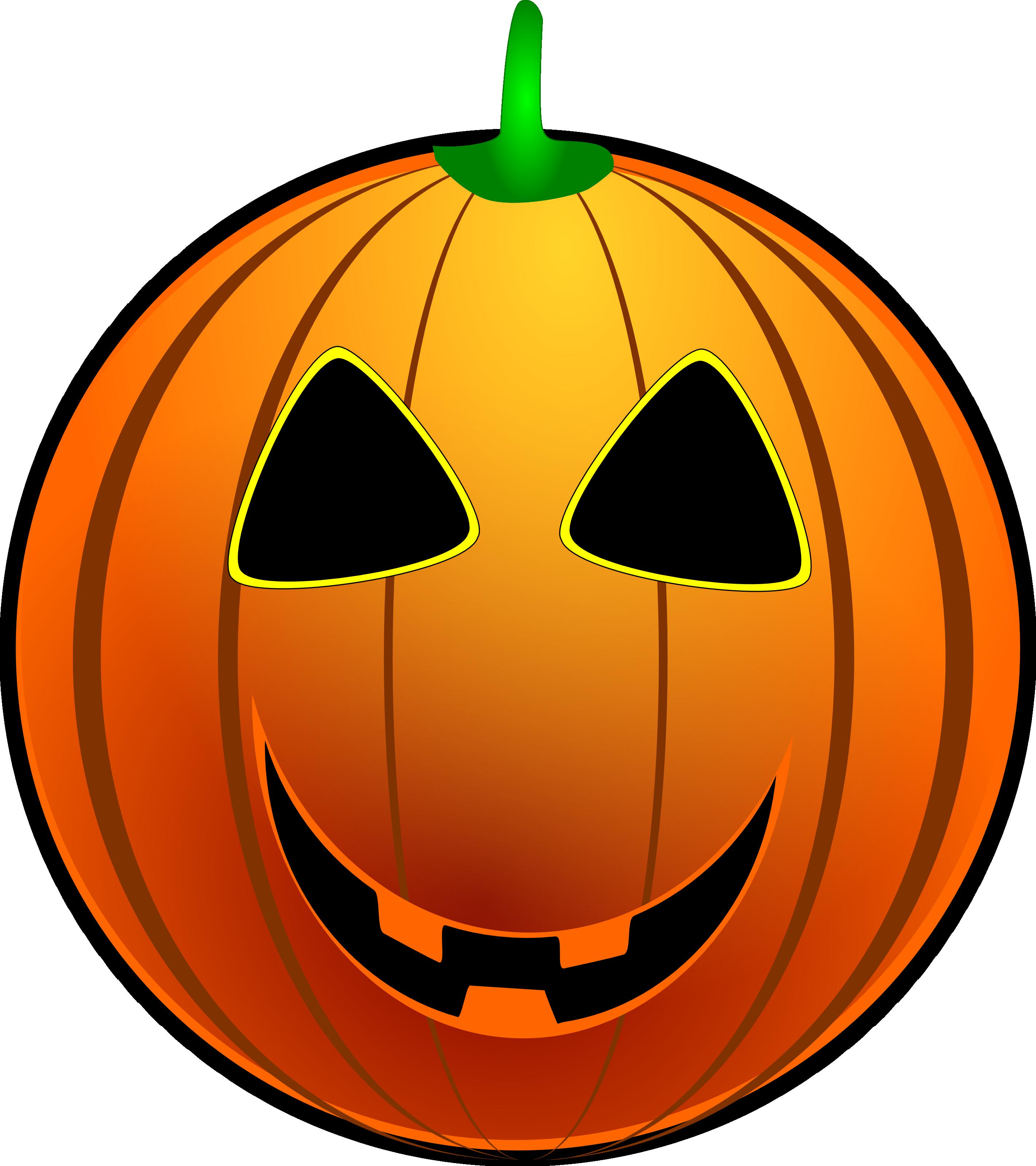 Jack o lantern face. Pumpkin clipart basic
