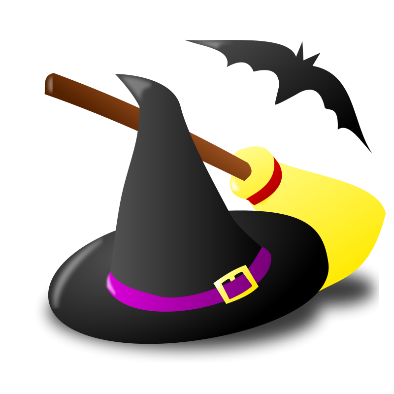 Witch clipart sorceress. Graphics of halloween witches