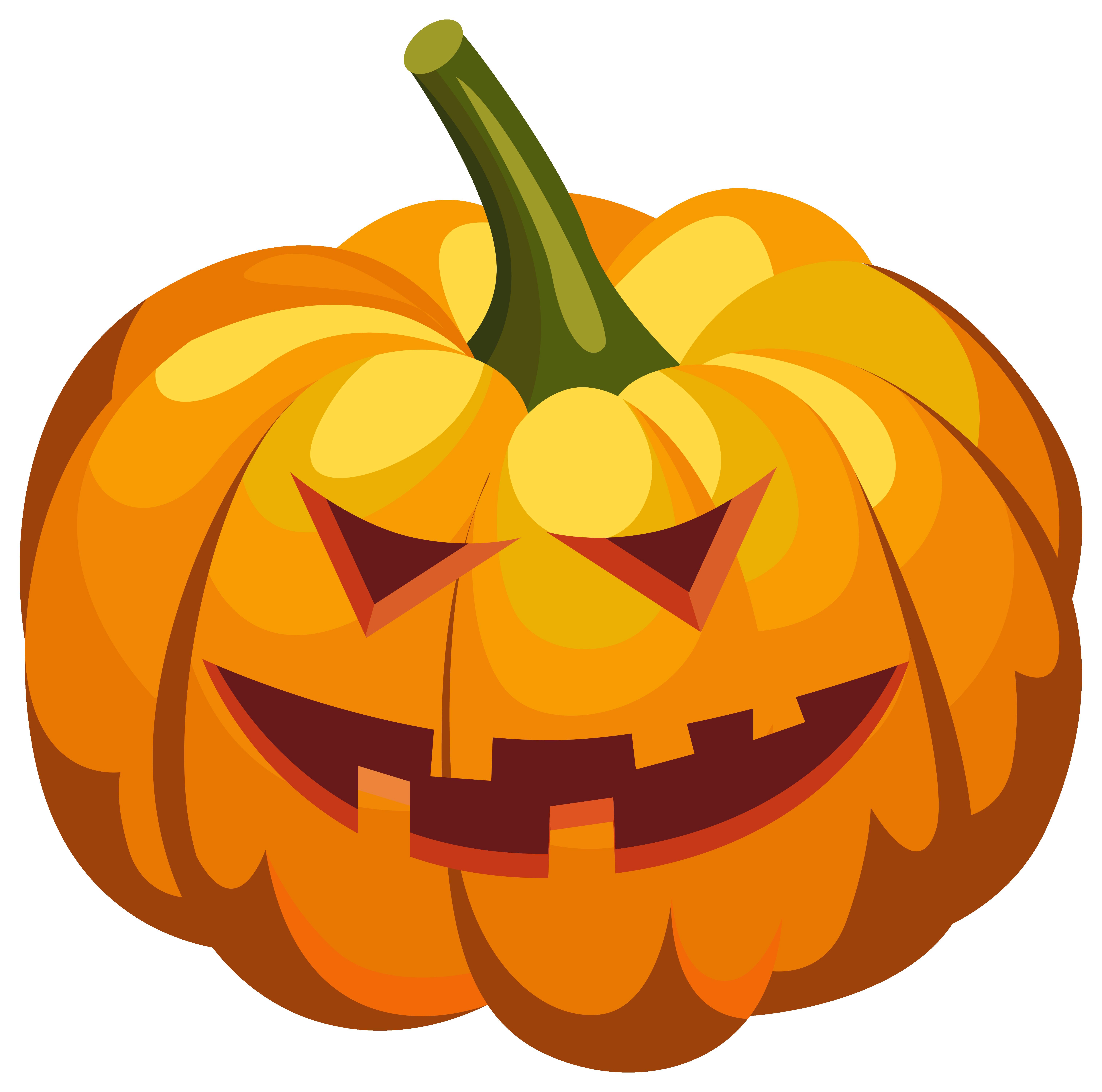 Pumpkin jack o lantern. Jackolantern clipart wolf