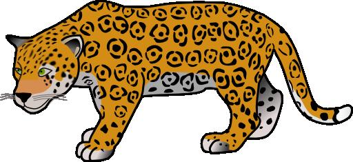 Jaguar clipart. I royalty free public