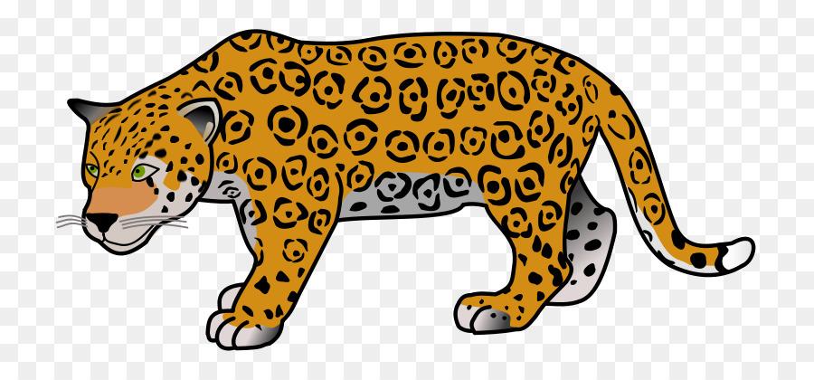 Jaguar clipart cartoon. Jungle png download free