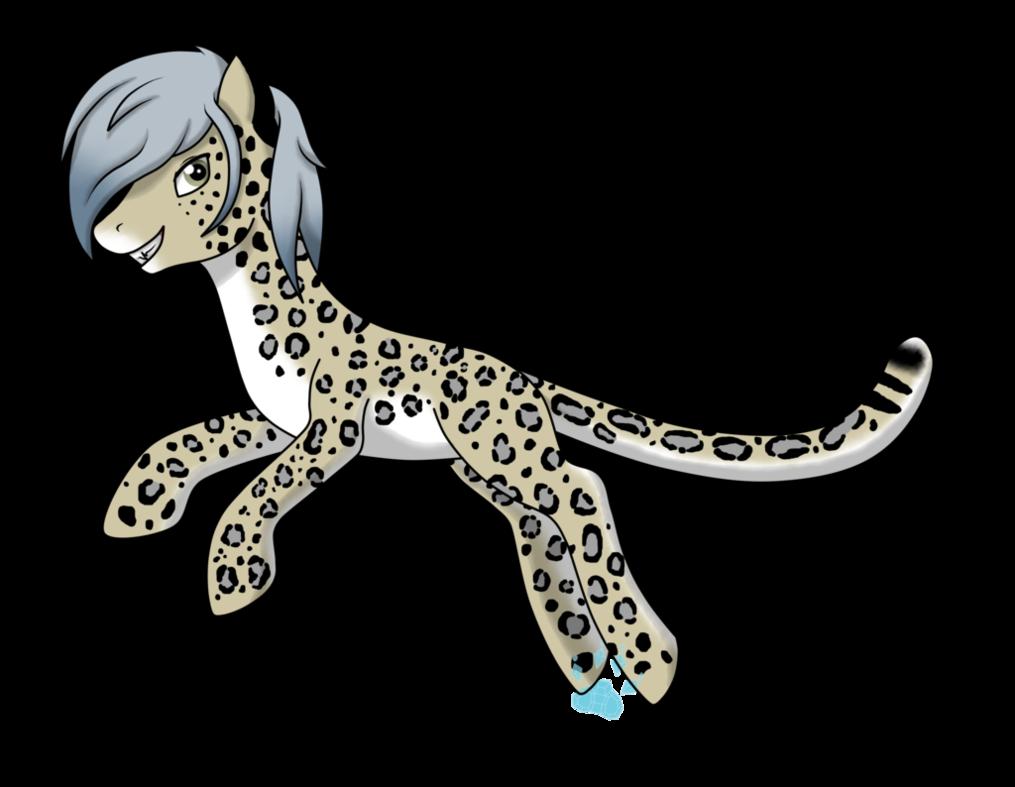 Jaguar clipart lineart. Snow leopard pony for