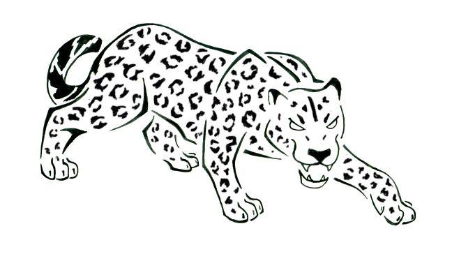 Pin on tattoos i. Jaguar clipart lineart