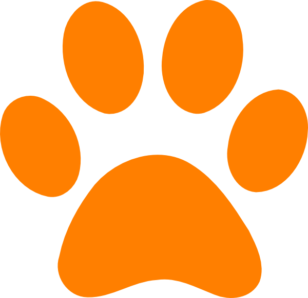 Paw clipart clear background. Free print template download