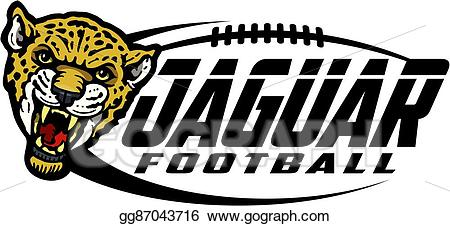 Jaguar clipart team. Vector art football eps