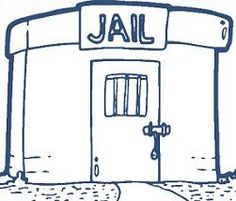 Jail clipart. Funny clip art penalty