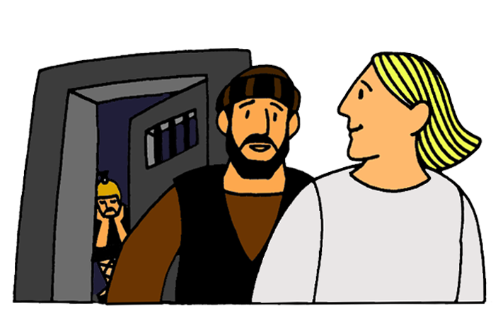 Peter s miraculous from. Jail clipart jail escape