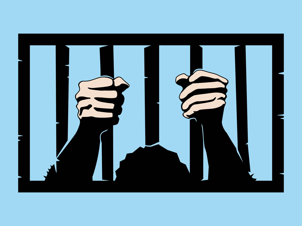 Free images of bars. Jail clipart united states we the person