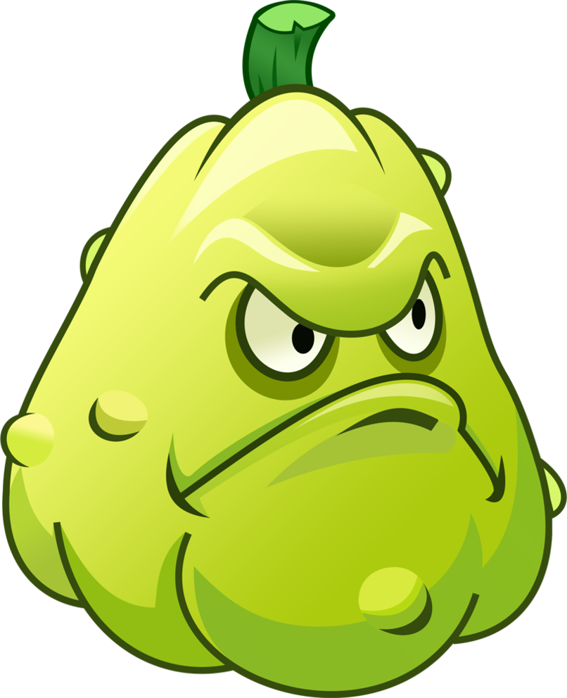 Jalapeno clipart cartoon angry. Plants vs zombies squash