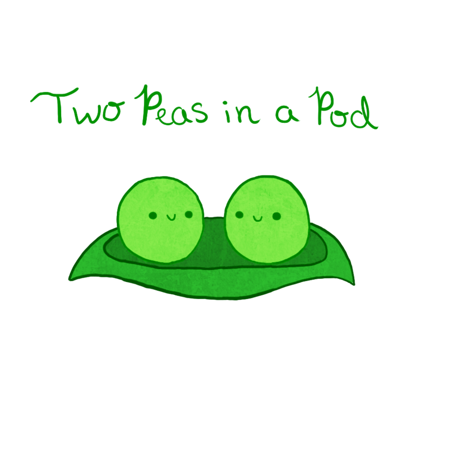 Pie clipart pea. Peas cute frames illustrations