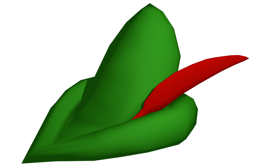 Jalapeno clipart hat. Robin hood opengameart org