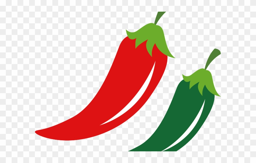 Pepper clipart serrano pepper. Chile peppers clip art