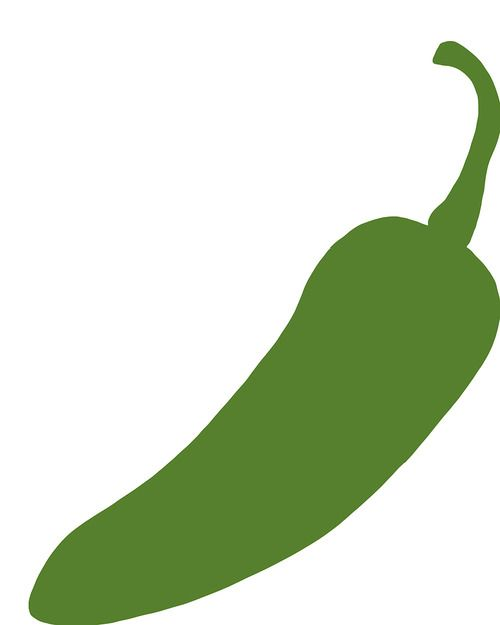 Jalapeno clipart object. Pin on svg cutting