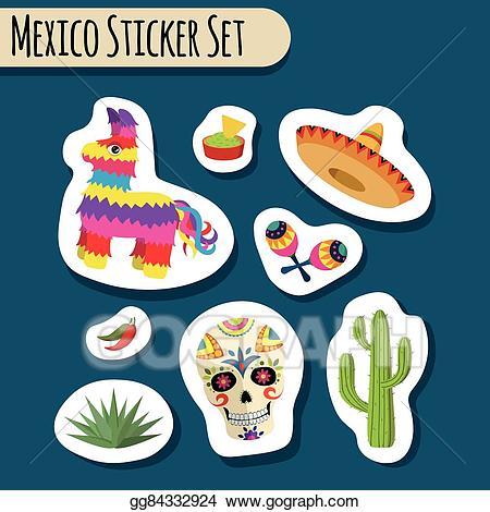 Eps illustration mexico bright. Jalapeno clipart object