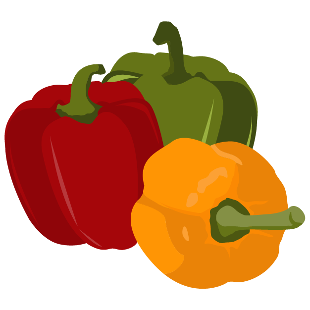 Project bell. Peppers clipart pepper spanish