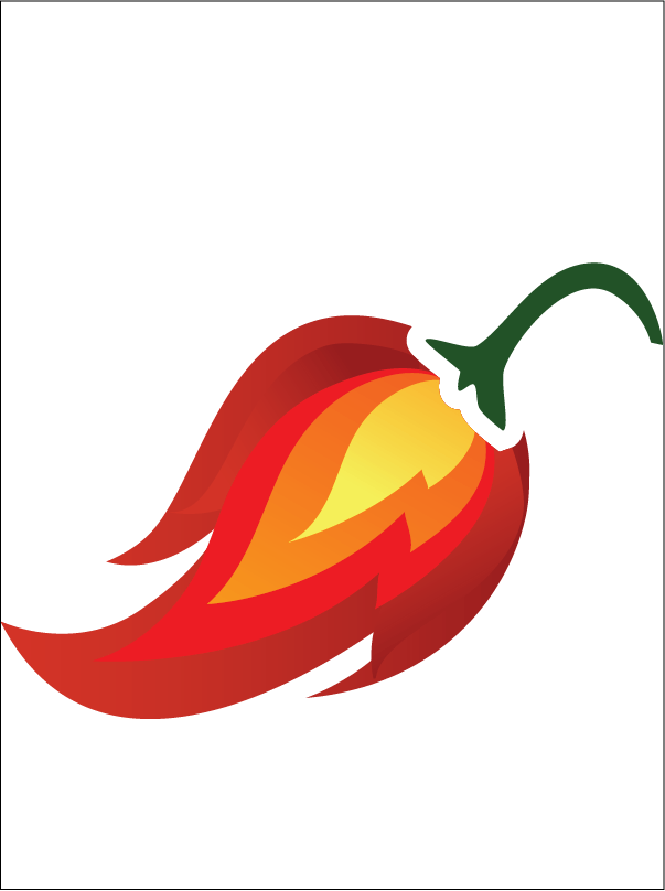 Ghost pepper glass flame. Jalapeno clipart red jalapeno