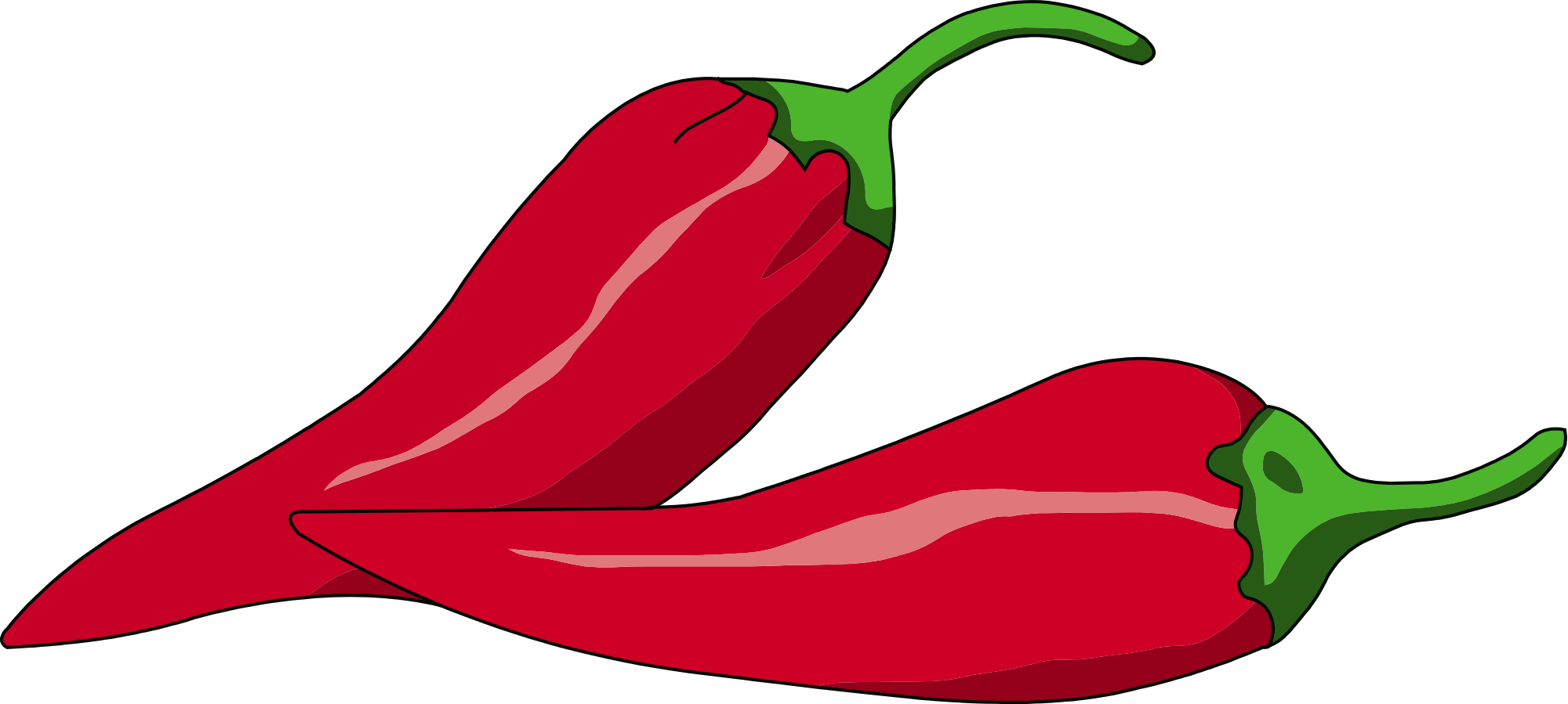 File peperoncino fra svg. Peppers clipart chili pepper