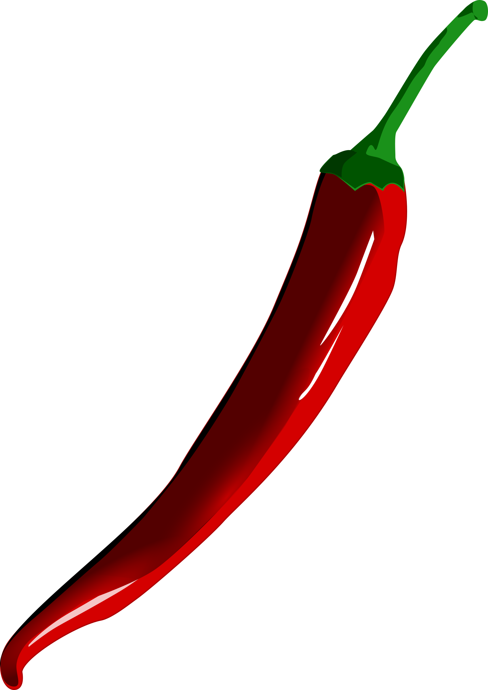 Peppers clipart chille. Chili pepper big image