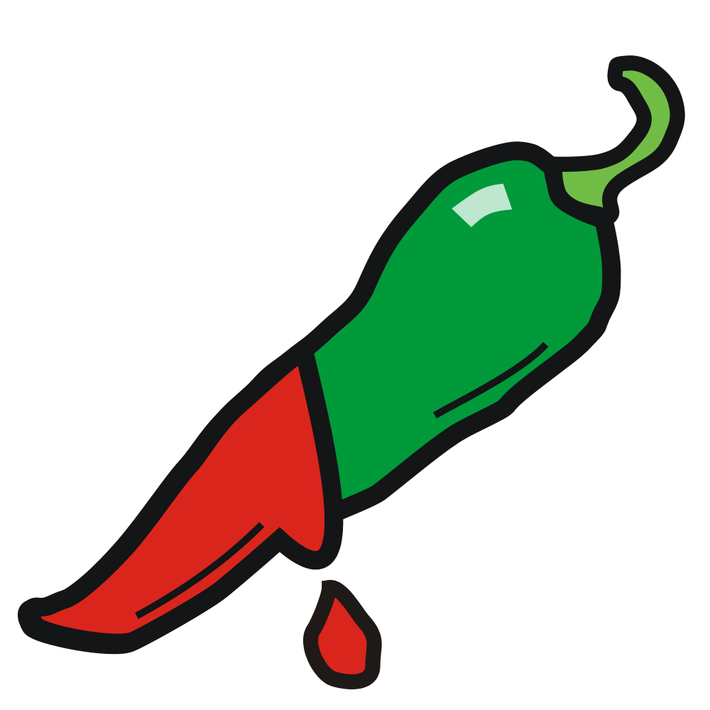 File chilli svg wikimedia. Pepper clipart serrano pepper
