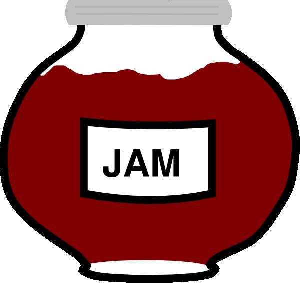 Jar clip art at. Jam clipart