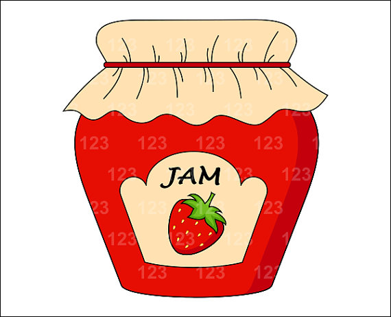 Free jam cliparts download. Jelly clipart jams