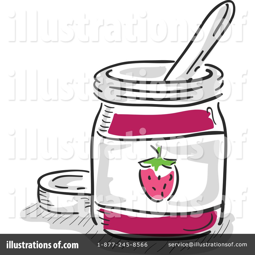 Jam clipart. Illustration by bnp design