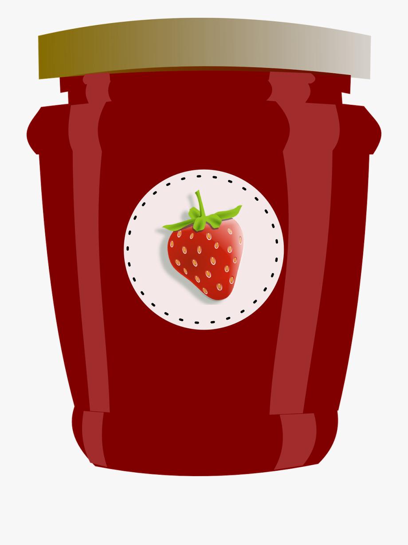 Jelly clipart jams. Strawberry jar jam preserves