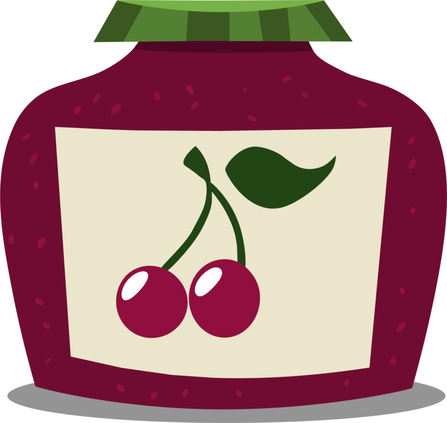 Jam clipart apple jelly. Jar by greseres on