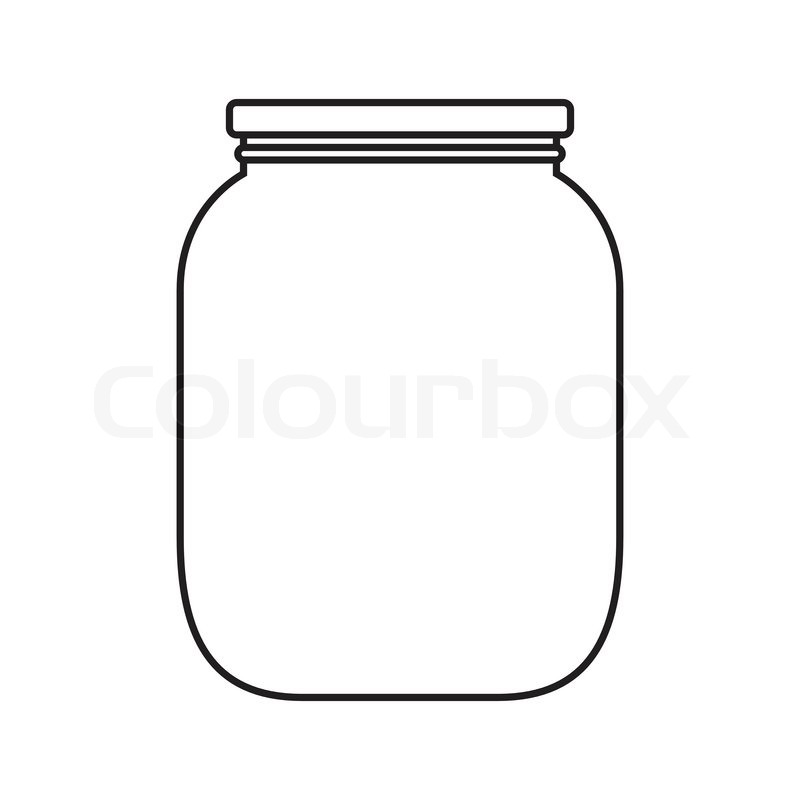 Mason free download best. Jelly clipart jar lid