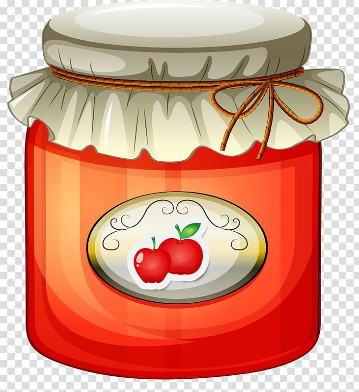 Gelatin dessert jam sandwich. Jelly clipart apple jelly