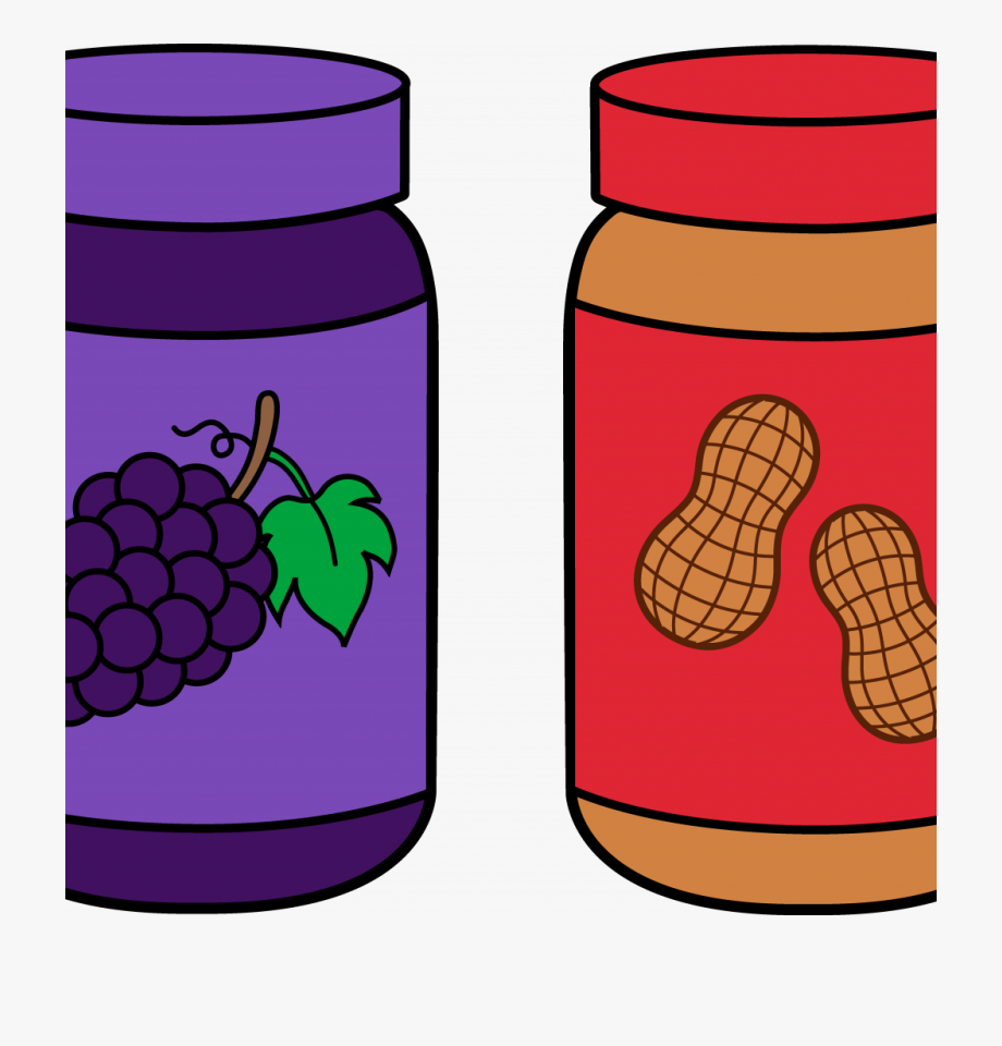 Jelly clipart blackberry jam. Peanut butter