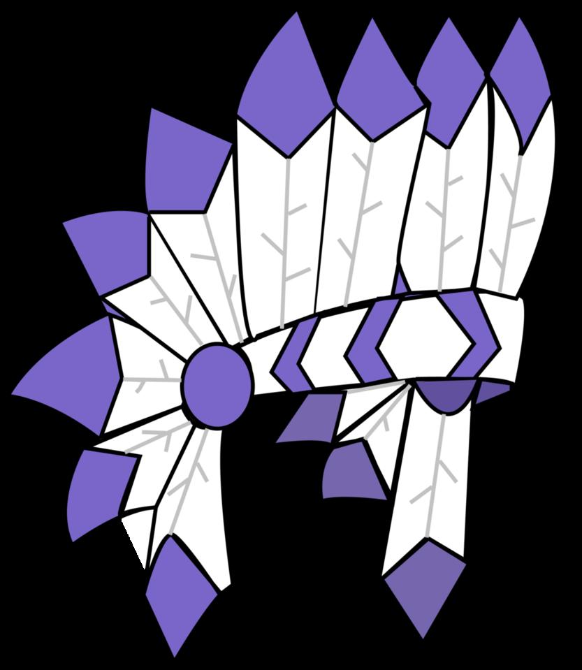Headdress rendered by popsiclegt. Jam clipart purple