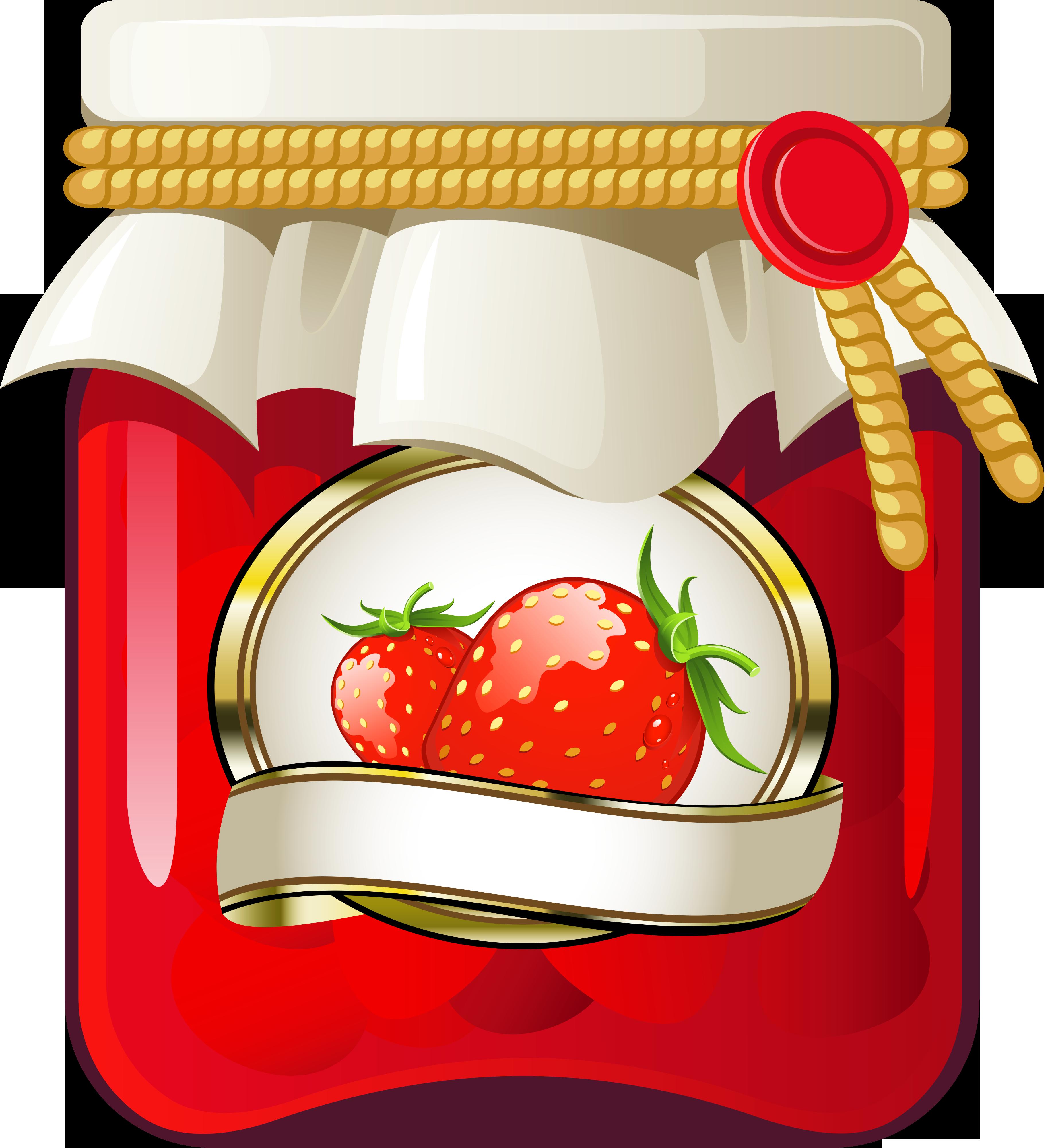 Jelly clipart homemade jam.  fe bf ce