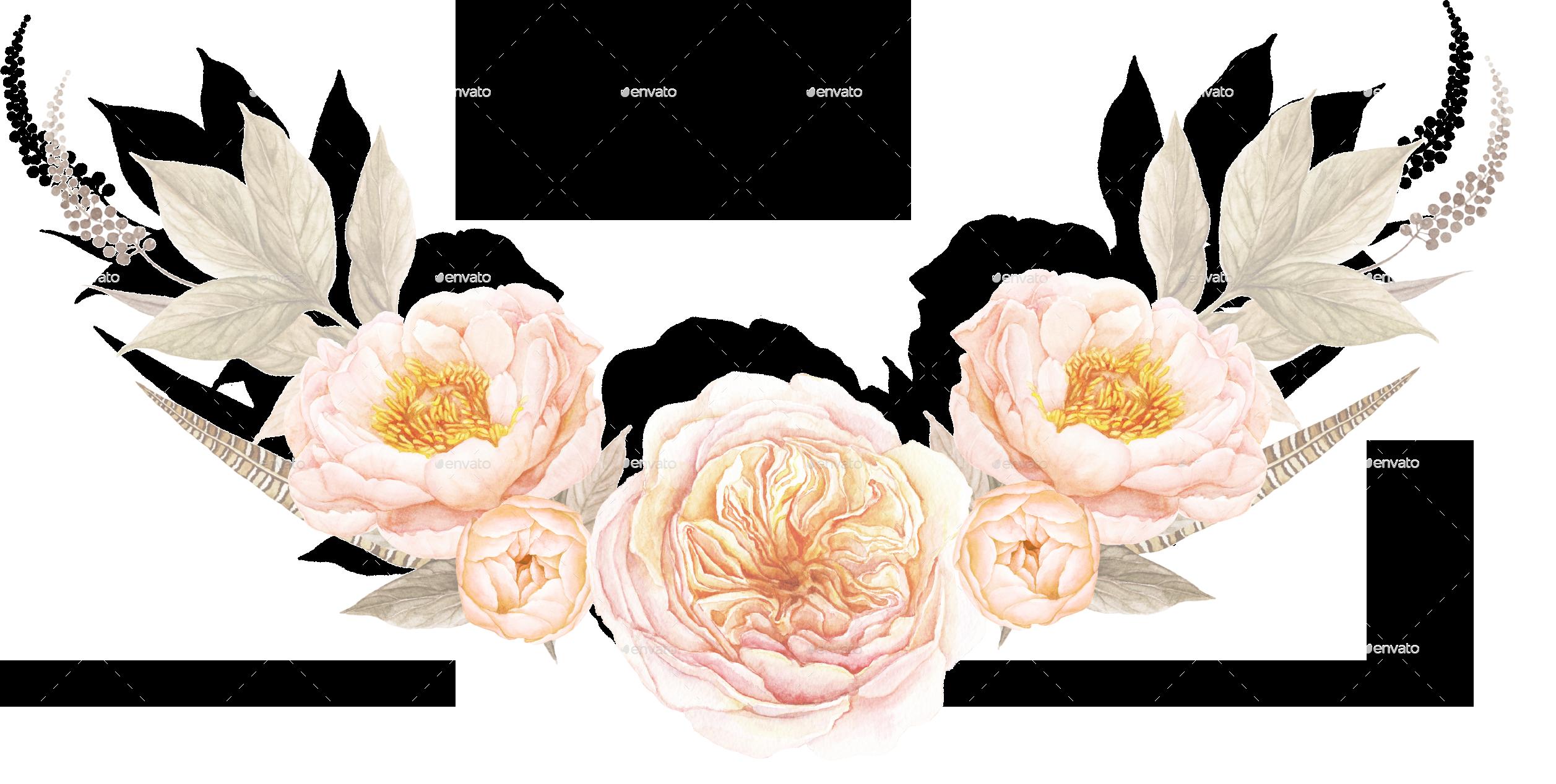 Transparent images pluspng teaberryfloralbouquetfloralbouquetpng. Flower vintage png