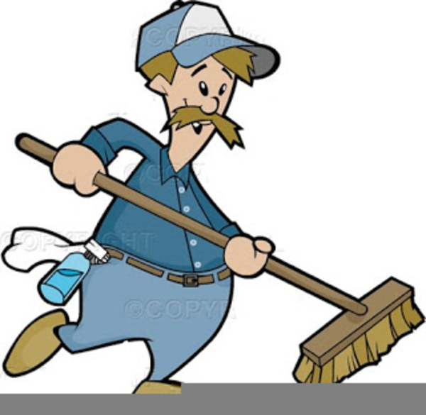 Animated free images at. Janitor clipart