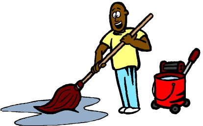 Janitorial cleaning . Janitor clipart