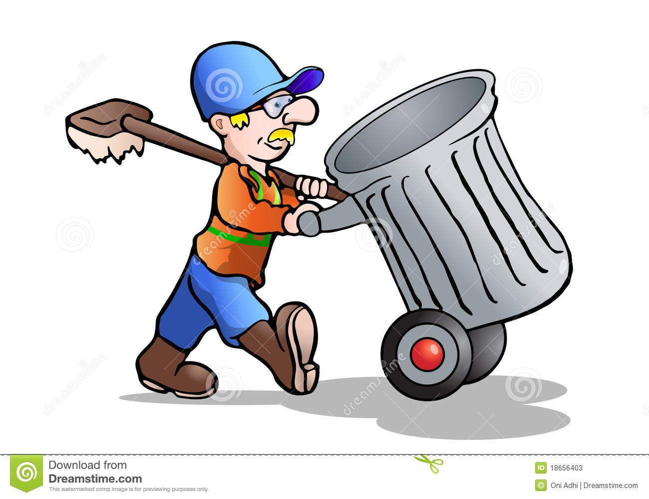 . Janitor clipart