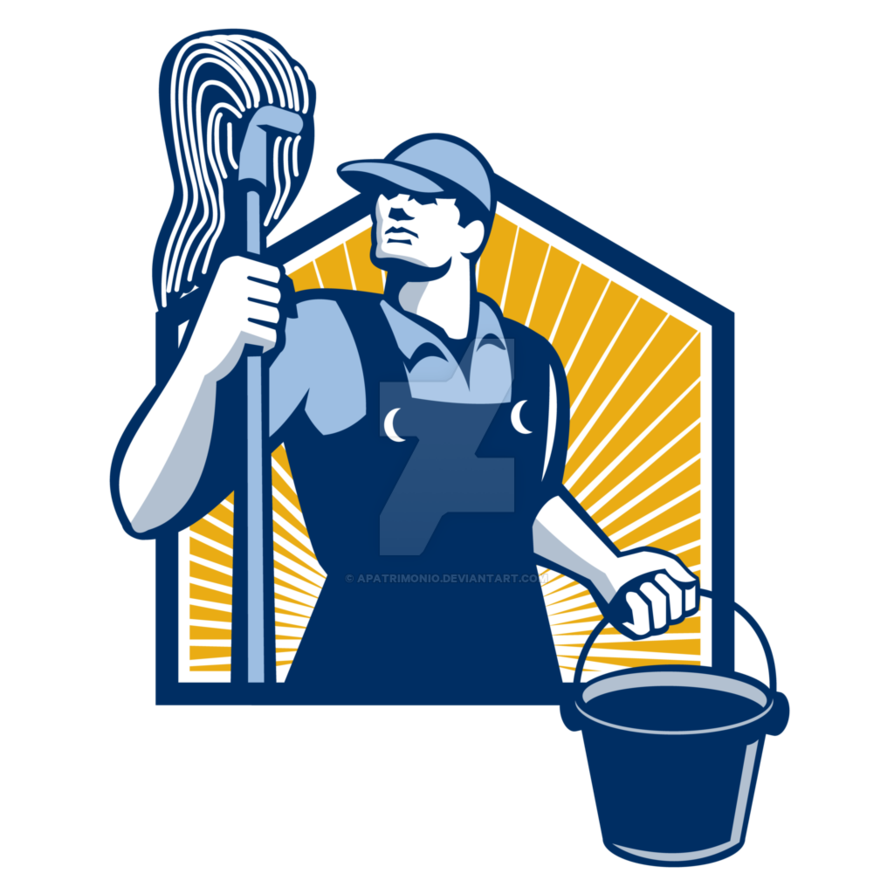 Janitor Clipart Cleaner Janitor Cleaner Transparent Free