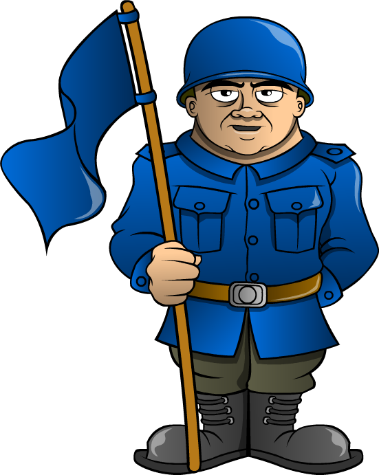 Janitor clipart female. Soldiers triviador world usa