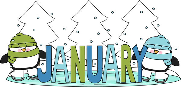 Winter . January clipart